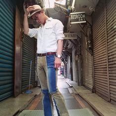 LIFE8 的 草編紳士帽