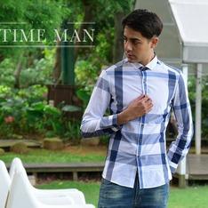TM時間男人 的 涼感雕塑襯衫