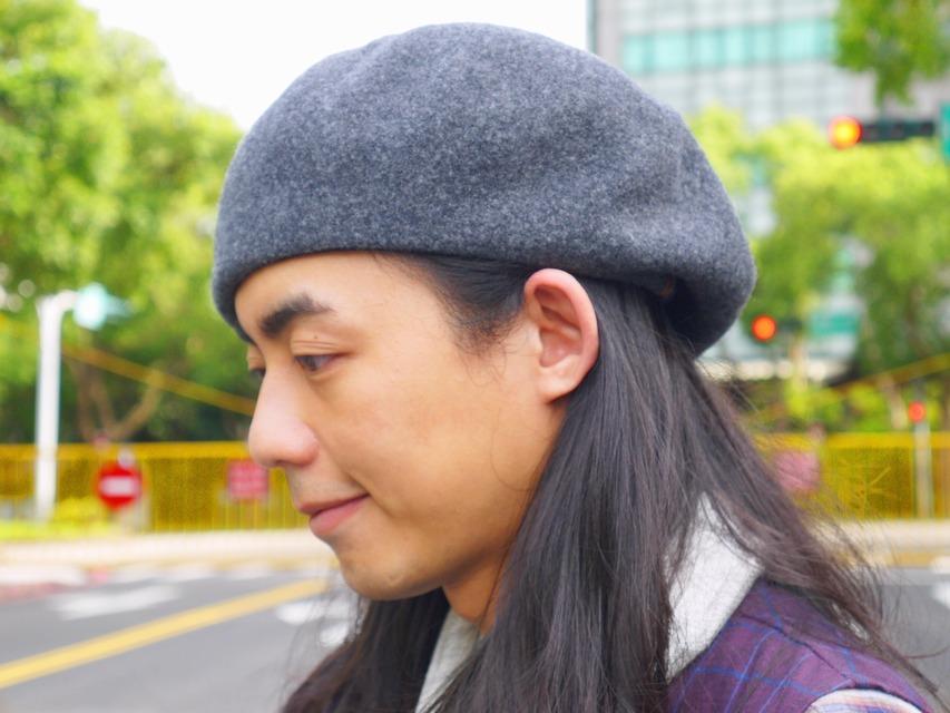 OVERRIDE 的 貝蕾帽