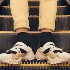 ADIDAS ORIGINALS 的 HYKE 忍者鞋