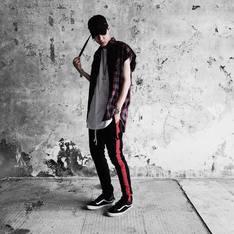 FAITH_HLC 的 紅線工作褲