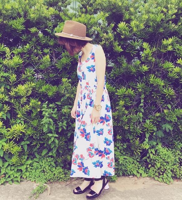 SINGULARR 的 印花洋裝