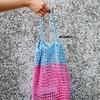 手工編織 的 編織網袋