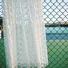 SINGULARR 的 透視紗裙