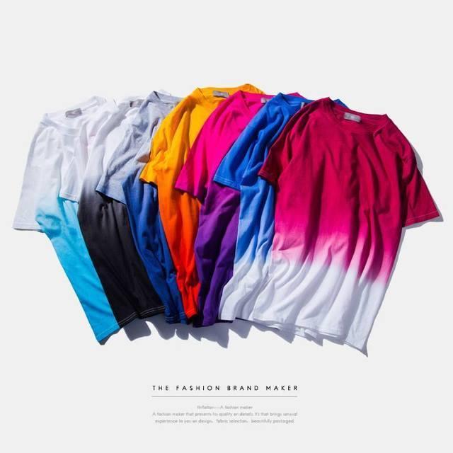 CREATIVE 的 2016 S/S CREATIVE COLLECTION 歐美渲染純棉短踢