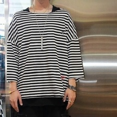 SYMPHONY LAB 的 FLY STRIPE TEE