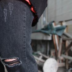 FAITH KOREA 的 牛仔褲