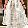 SINGULARR 的 格紋裙