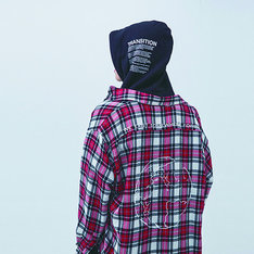 51PERCENT 的 51PERCENT EARTH WOOL PLAID CHECK SHIRT