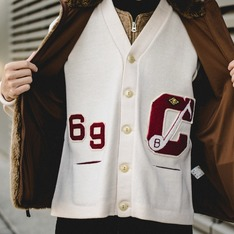 古著 的 60年代製造針織衫