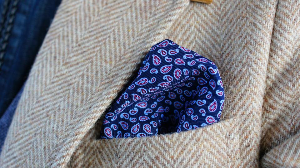 H&M 的 胸袋巾