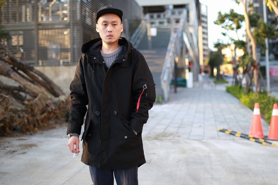 ALPHA INDUSTRIES 的 M-59 FISHTAIL PARKA 防風外套