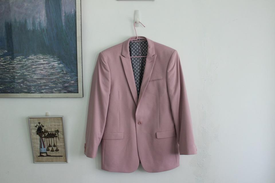 ASOS 的 粉紅西裝外套