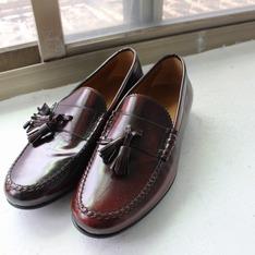 ZARA 的 酒紅樂福鞋