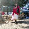 大陸設計品牌 的 天鵝絨中國風不規則外套