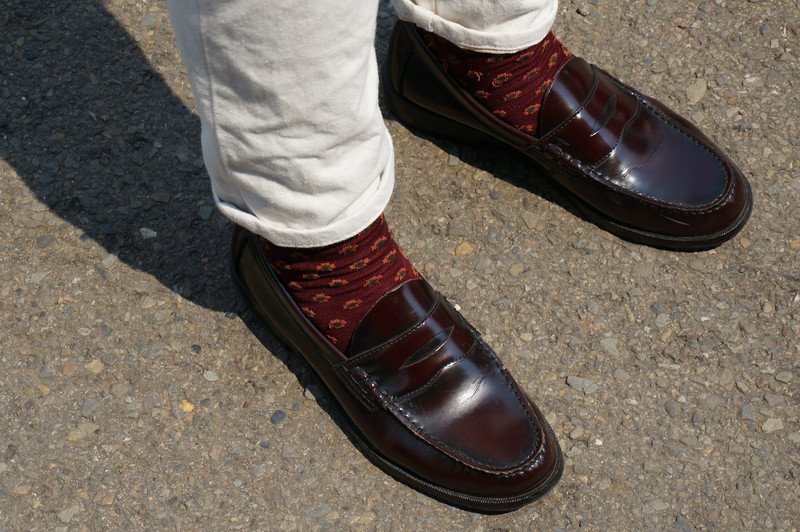 G.H. BASS & CO. 的 酒紅PENNY LOAFER
