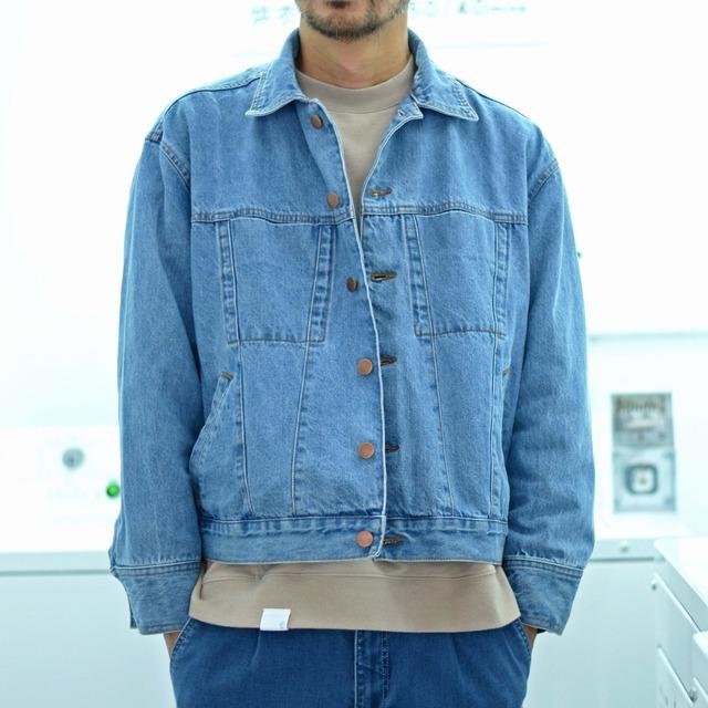 PLAIN-ME 的 水洗丹寧牛仔外套