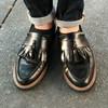 無品牌 的 黑色樂福鞋