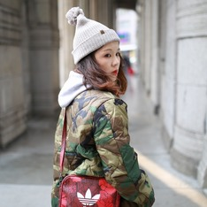 HERSCHEL SUPPLY CO. 的 毛帽