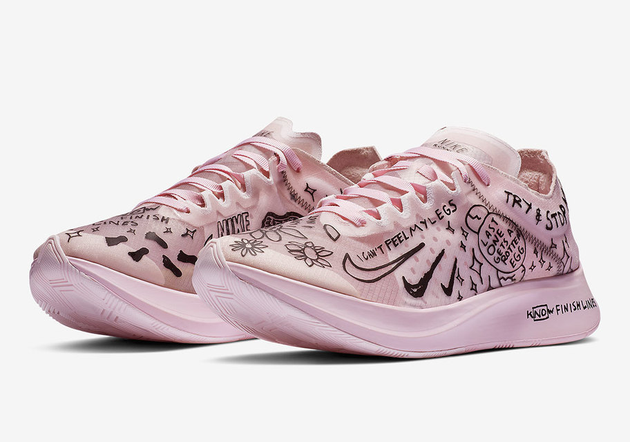 NATHAN BELL NIKE ZOOM FLY SP 的 球鞋